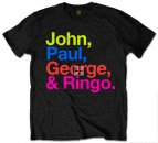 SGT PEPPER COLORS JOHN, PAUL, GEORGE & RINGO