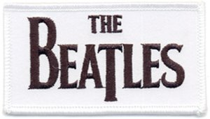 BEATLES LOGO PATCH