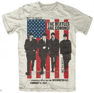 THE BEATLES ARE COMING T-SHIRT - Last One