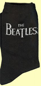 THE BEATLES HORIZONTAL LOGO WOMEN'S SOCKS