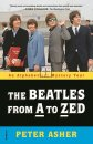 BOOKPLATE SIGNED: BEATLES FROM A TO ZED by PETER ASHER