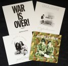 JOHN LENNON SET OF 4 GREETING CARDS - Last Two