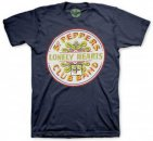 SGT PEPPER DRUMHEAD TEE BLUE - Medium - Last One