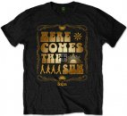 BEATLES HERE COMES THE SUN BLACK TEE