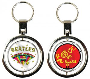 MAGICAL MYSTERY TOUR SPIN KEY CHAIN