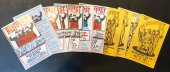 SET 5 OF ORIGINAL BEATLEFEST PROGRAM BOOKS 1984-1985