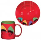 THE BEATLES CHRISTMAS 16 OZ MUG & SAUCER SET