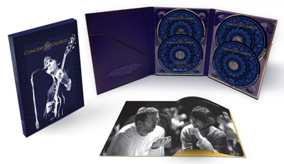 CONCERT FOR GEORGE 2 CD/2 BLURAY SET