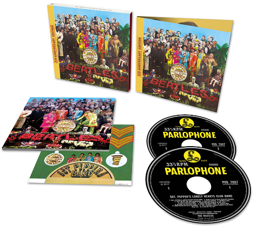 SGT. PEPPER DELUXE EDITION 2 CD (50th ANNIVERSARY ED.)