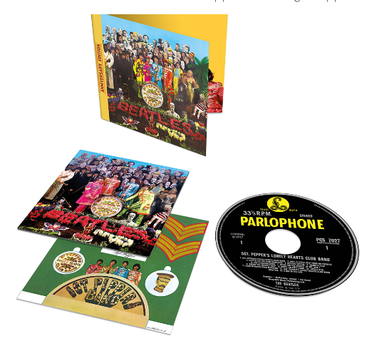 SGT. PEPPER STANDARD CD (50th ANNIVERSARY ED.)