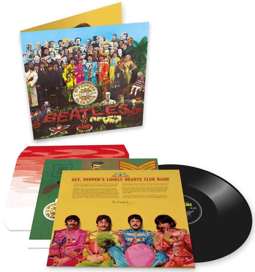 SGT. PEPPER STEREO MIX VINYL - 1 LP (2017)
