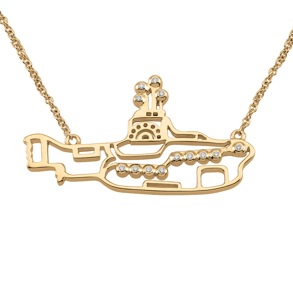 YELLOW SUBMARINE NECKLACE