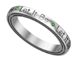 LET IT BE STACK RING