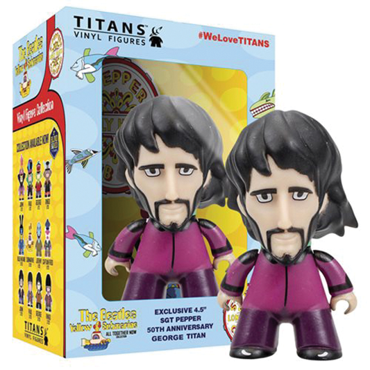 "SGT PEPPER TITAN 4 1/2"" GEORGE VINYL"