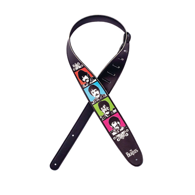 SGT. PEPPER IMAGES VEGAN GUITAR STRAP