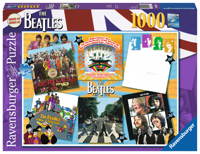 BEATLES 67-70 ALBUM COVERS PUZZLE