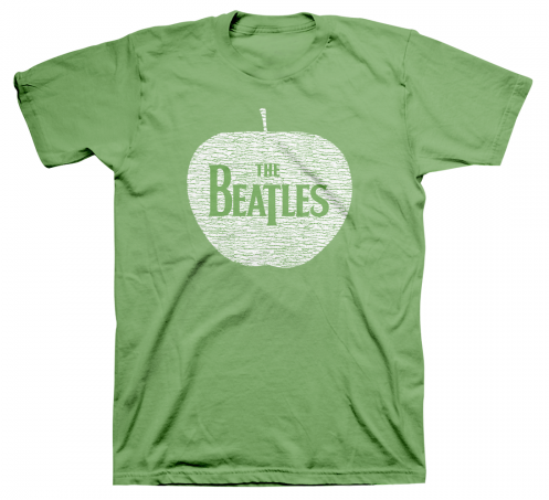BEATLES GREEN APPLE LOGO TEE
