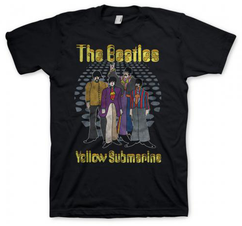 BEATLES YELLOW SUB/THE GUYS TEE