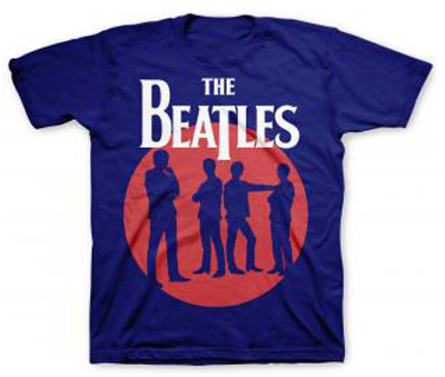 youth beatles silhouette circle t shirt beatles gifts the fest
