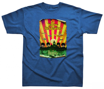 BEATLES YELLOW SUBMARINE SKYLINE