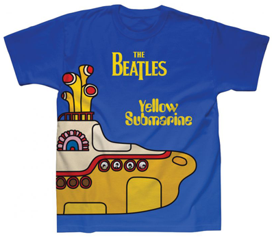 YELLOW SUBMARINE SUBLIMATION T