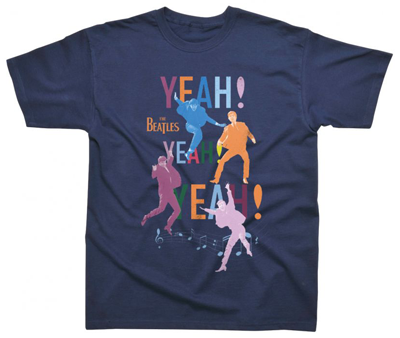 CHILD YEAH, YEAH, YEAH NAVY TEE - Size Med (5-6 years) Only