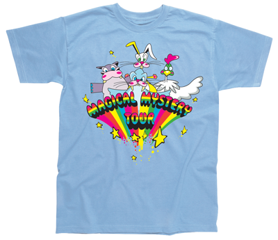 CHILD MAGICAL MYSTERY TOUR LT BLUE T