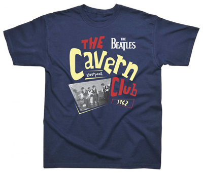 CHILD CAVERN CLUB NAVY T