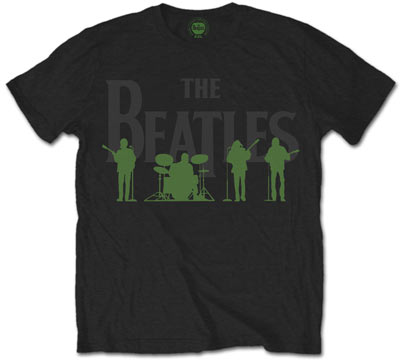 The Beatles Logo With Green Shadow T Shirt 5829 24 50