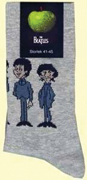 CARTOON STANDING SOCKS- MEN'S GRAY