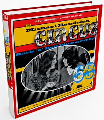ROCK AND ROLL CIRCUS IMPORTED BOOK