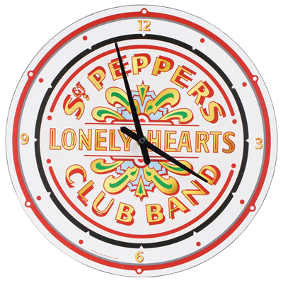 BEATLES SGT PEPPER'S WALL CLOCK