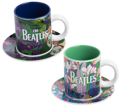 YELLOW SUBMARINE CUP AND SAUCER SET