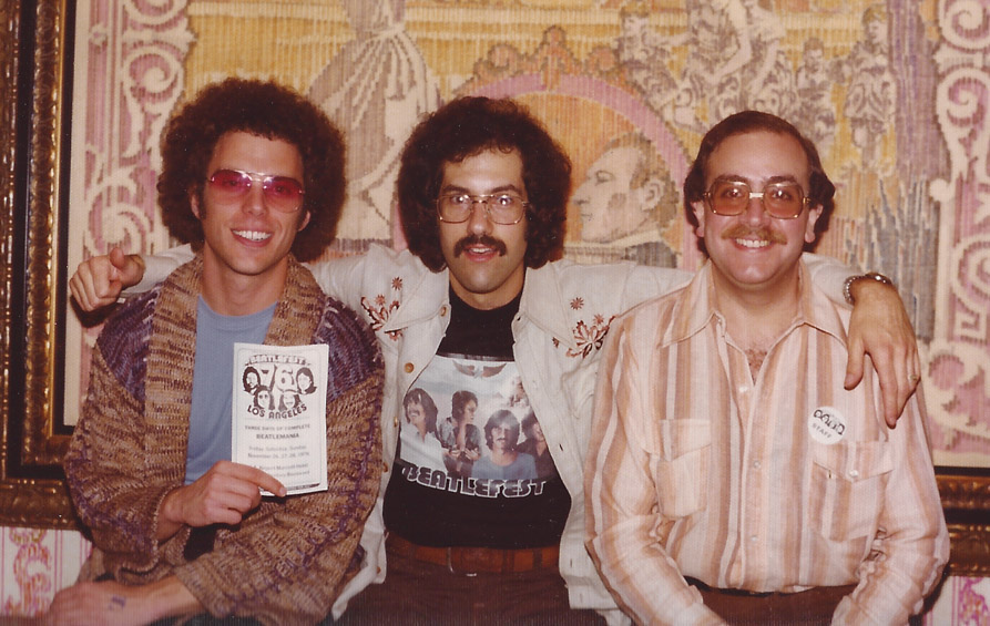Since the early days of the FEST, Mark Lapidos has always been able to land FAB guests.  Here he is with Rob DiLello – L.A. `76