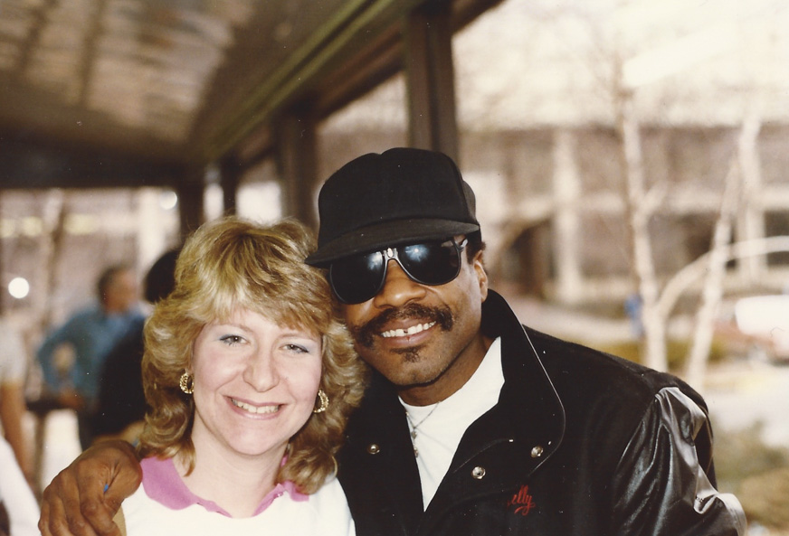 """Fifth Beatle"" Billy Preston and Carol Lapidos `Get Back' - `87"