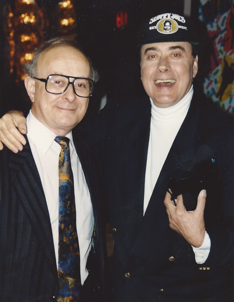 Ray Coleman & Victor Spinetti enjoying just another `Hard Day's Night' – `92