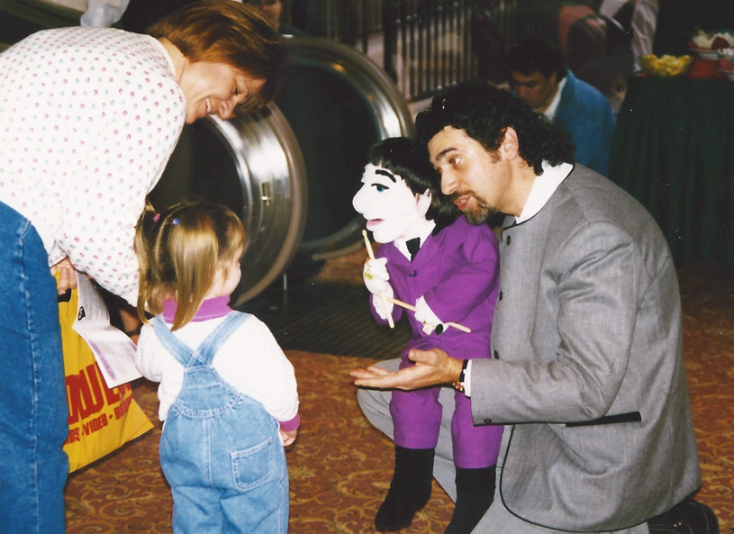 Bob Abdou & his puppets are always a delight for fans – both young and old -`97