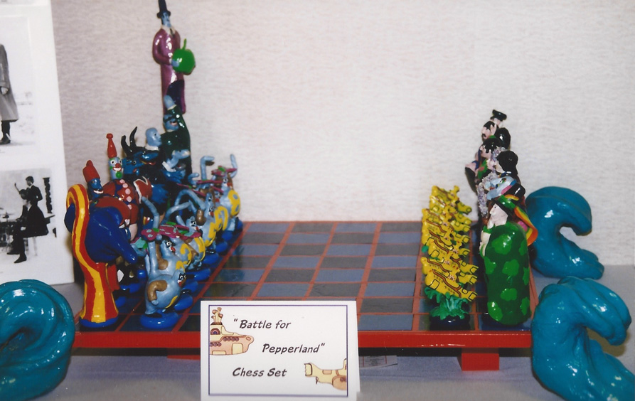 Want to check out some incredible pieces of art, like a handmade `Yellow Submarine' chess set? The FEST art contest is the place to go – Chicago `98