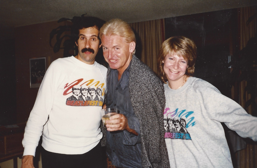 Mike McCartney with Mark and Carol Lapidos - Chicago `86