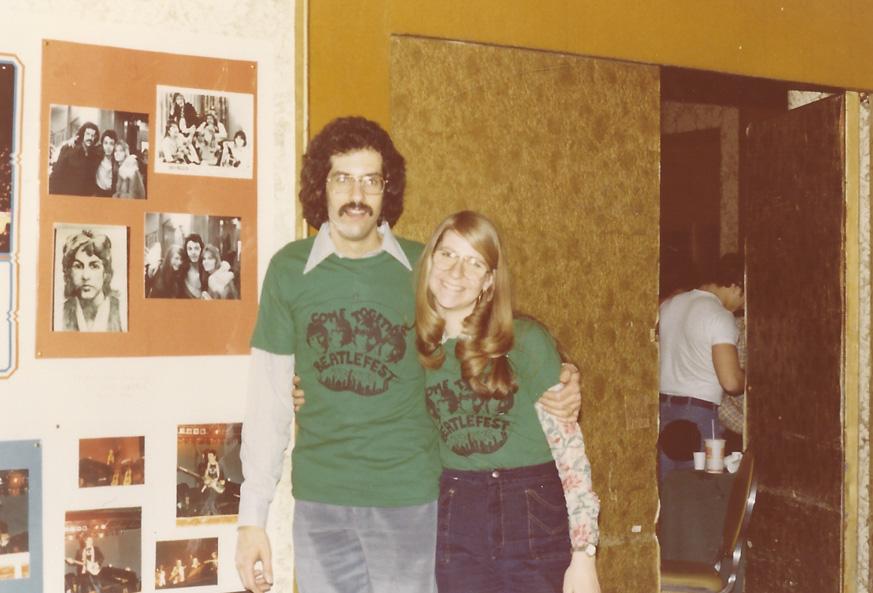 Mark and Carol Lapidos - N.Y. `77
