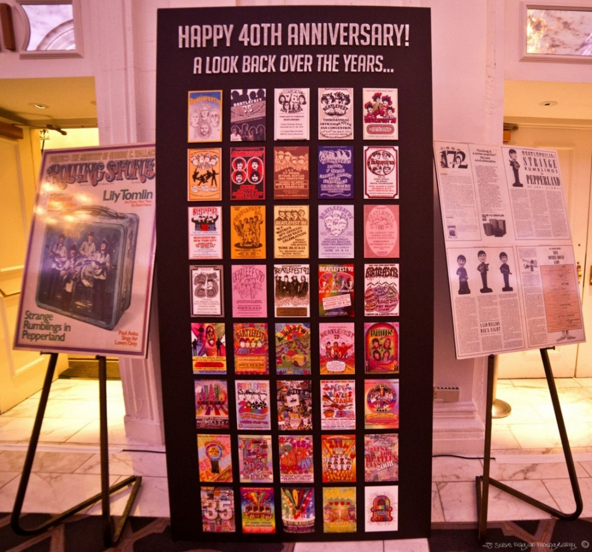 At the NYC Fest, fans were able to take a look back at 40 years of Fest memories.
