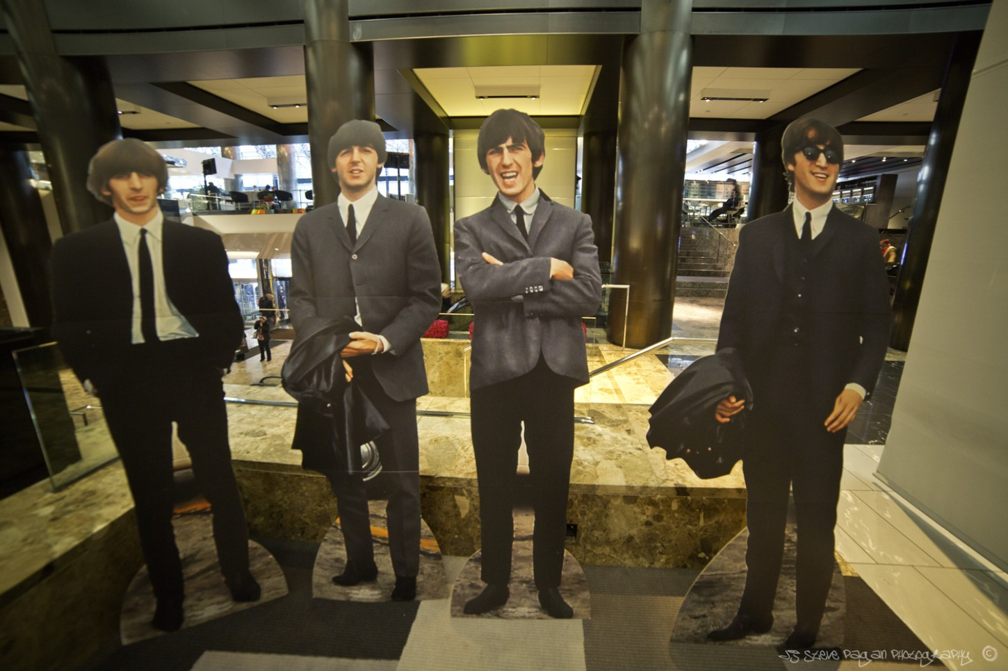 The Beatles of course made their way to the Grand Hyatt for NYC Fest 14.