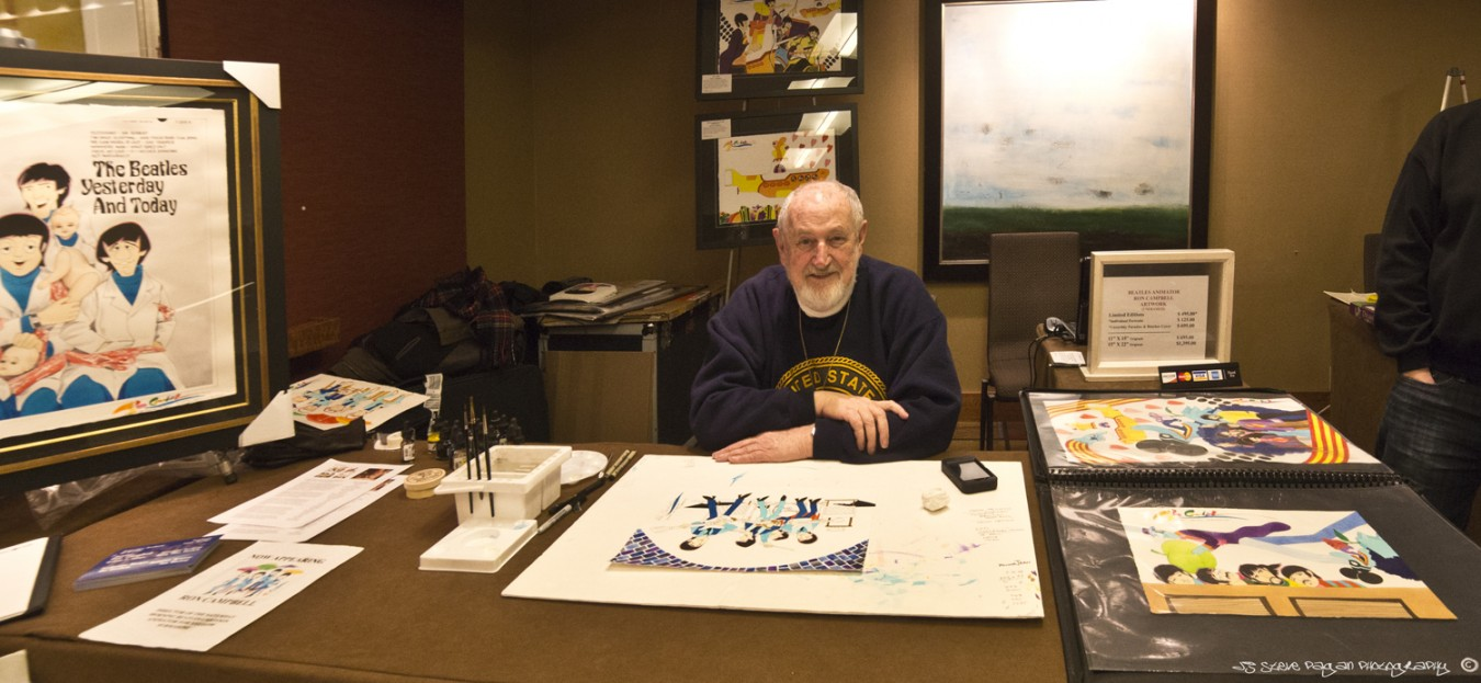 "Ron Campbell, who was an illustrator for The Beatles cartoon series and the feature film ""Yellow Submarine"" was one of many Beatles artists who joined us for the Fest."