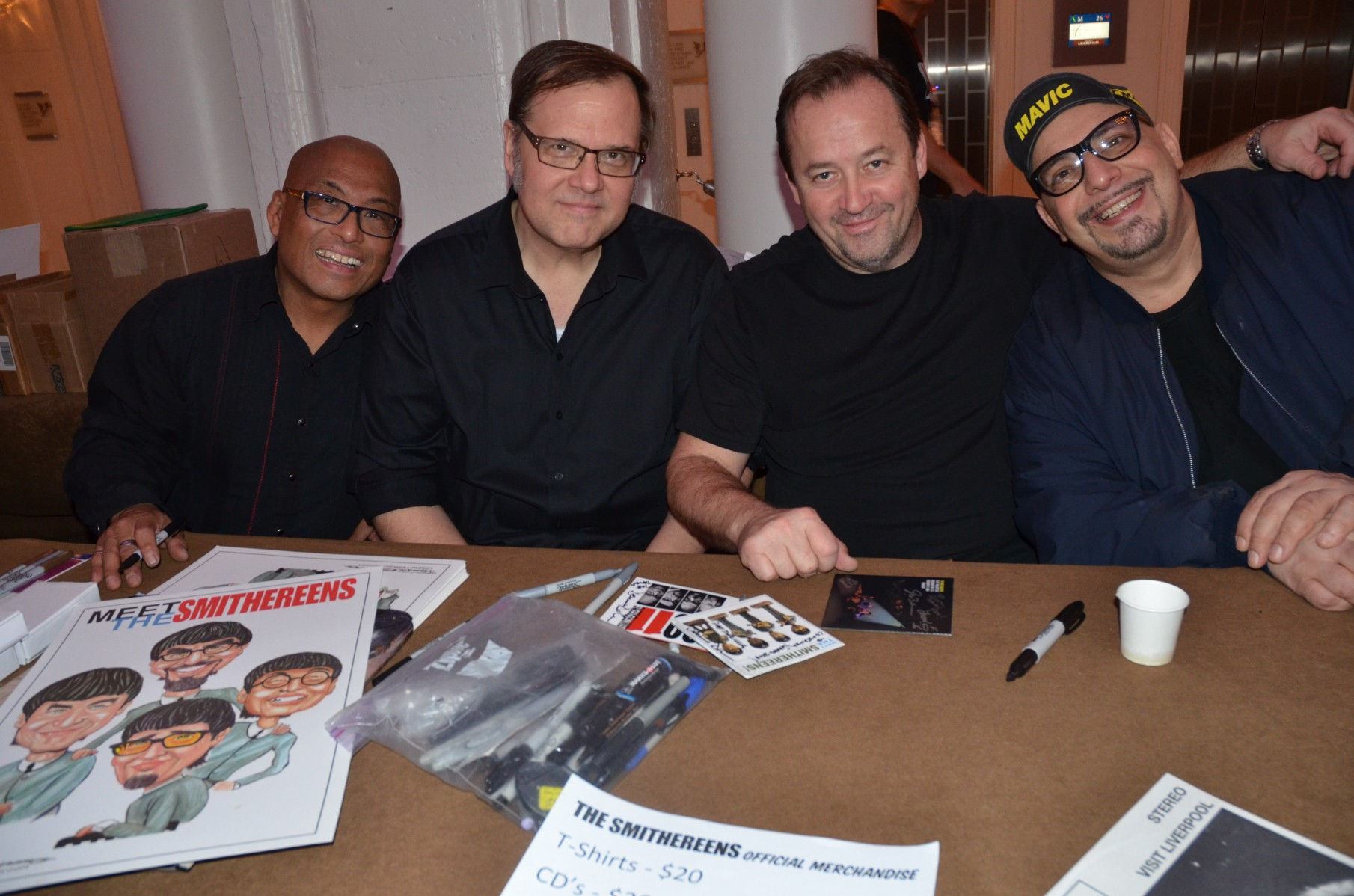 On Sunday, The Smithereens recreated the Beatles' iconic 1964 Washington Coliseum concert.