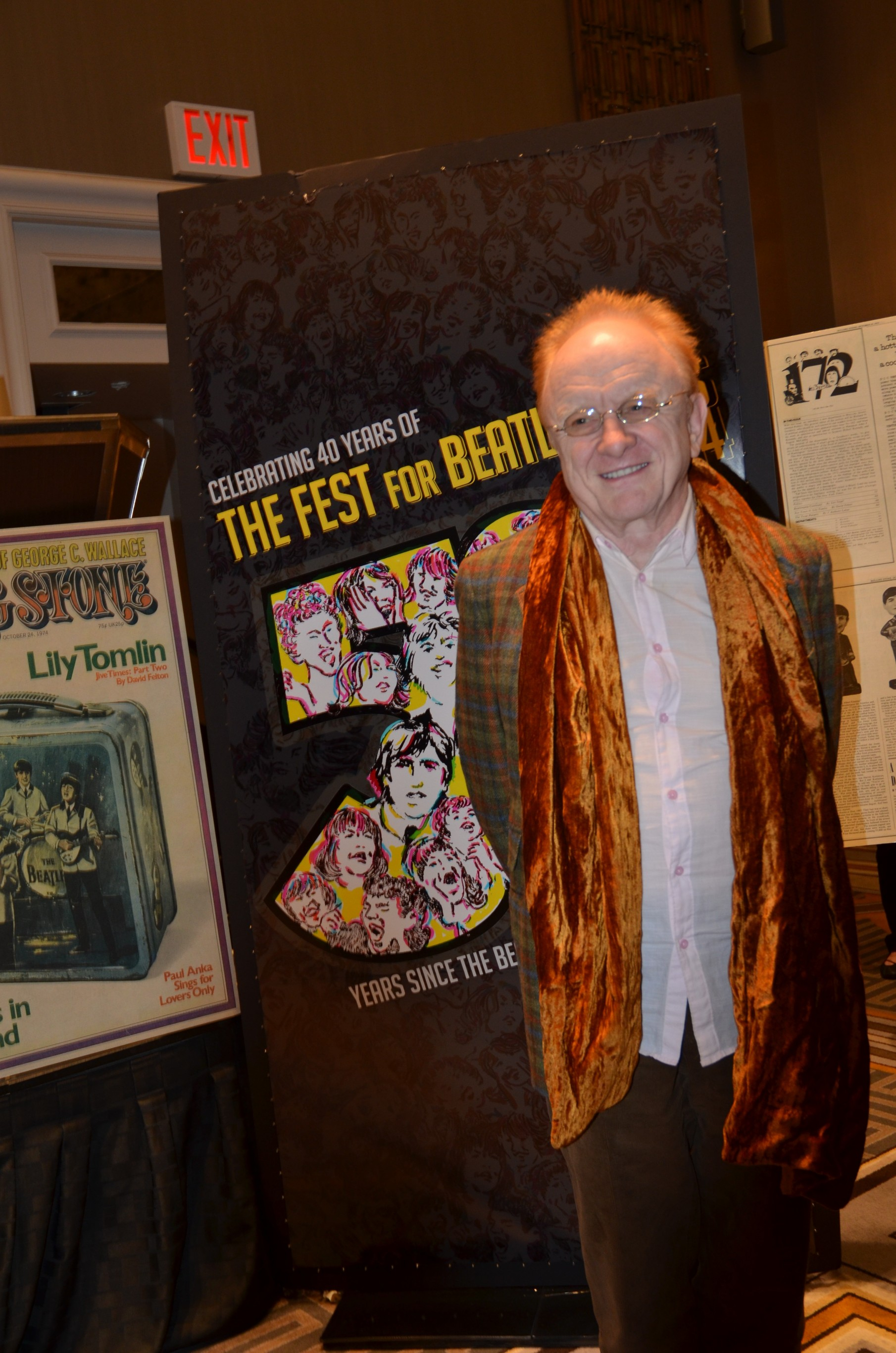 Legendary musician and producer Peter Asher.