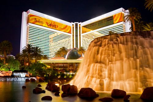Mirage Hotel And Your Vegas Escape Includes Two Tickets To See The Beatles Love Cirque Du Soleil Dinner For At Vip Gift Bags